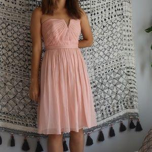 J. Crew Nadia Silk Chiffon dress, size 2